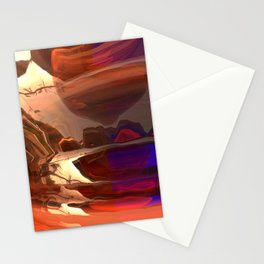 My Distorted Street Stationery Cards