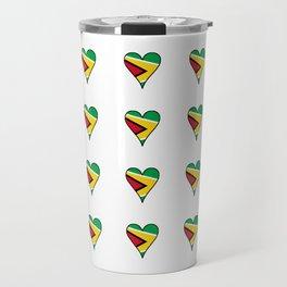 Flag of Guyana 2  -Guyanese,Guyanes,Georgetown,Linden,Waiwai Travel Mug