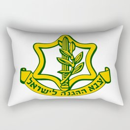 Tzahal Logo Rectangular Pillow