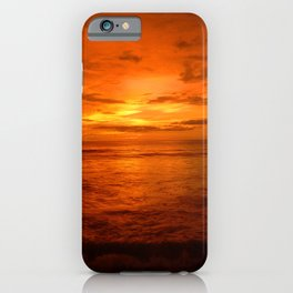 Copper Sunset iPhone Case