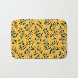 Yellow Olive Bath Mat