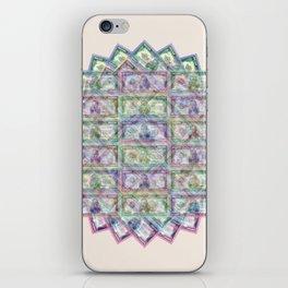 1 Billion Dollars Geometric Tan iPhone Skin
