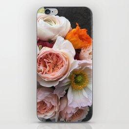 Rosey ruffles iPhone Skin