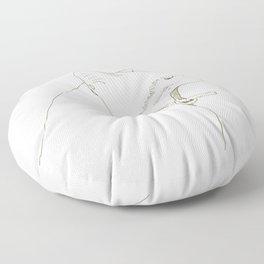 yawn Floor Pillow