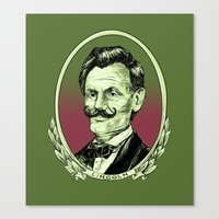 lincoln Canvas Prints featuring Lincoln by Esteban Ruiz