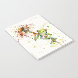 Hello There Bright Eyes (Green Tree Frog) Notebook