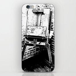 Klosserman's Easel iPhone Skin