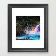 Mind Quake Framed Art Print