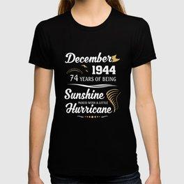 December 1944 Sunshine mixed Hurricane T-shirt