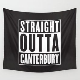 Straight Outta Canterbury - New Zealand Rugby Wall Tapestry