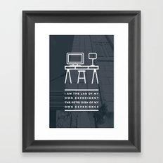 I AM THE LAB - Hilo Framed Art Print