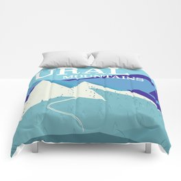 Ural Mountains Russia Comforters