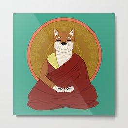 Dalai-Shiba Metal Print