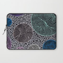 Abstract Patterned Circles Laptop Sleeve