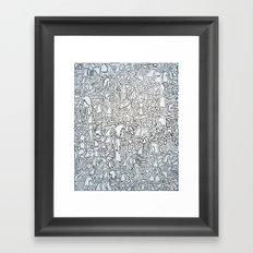 Whack Framed Art Print