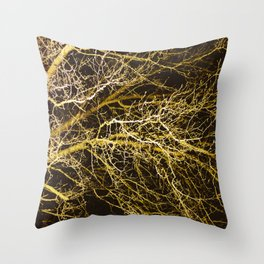 Cluttered Nite II Throw Pillow