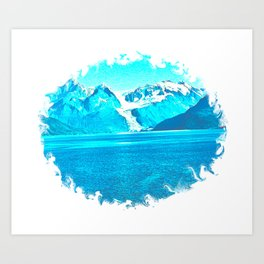 Blue Beauty 2 Art Print