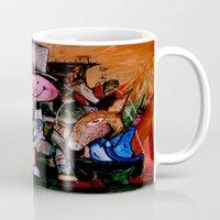 political Mugs featuring Political Circus by eVol i