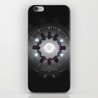movie poster iPhone & iPod Skins featuring INTERSTELLAR movie poster by yurishwedoff