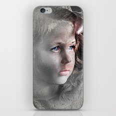 Girl with Bow iPhone & iPod Skin