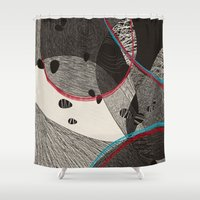 dance Shower Curtains featuring Dance by Julia Tomova