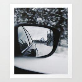 The Icefields Parkway, Alberta. Art Print