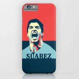 Luis Suarez, number one Uruguayan player. iPhone Case