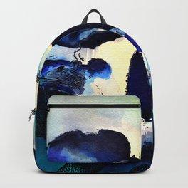 Blue Skull Backpack