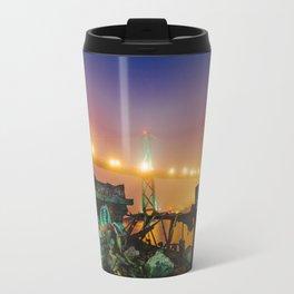 Halifax meets Vice City Travel Mug