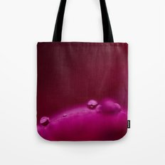Red Abstraction Tote Bag
