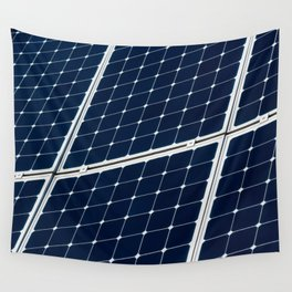 Solar power panel Wall Tapestry