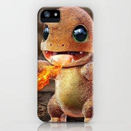 Realistic Charmandar iPhone Case