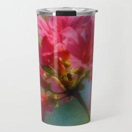 Pink Azalea Travel Mug