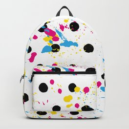 Fashion Patterns Paint the Fence Backpack