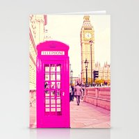 telephone Stationery Cards featuring TELEPHONE  by Ylenia Pizzetti