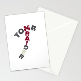 Tomb Raider Axe Stationery Cards