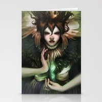 witch Stationery Cards featuring Witch by Kelly Perry