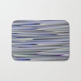 BESTILL purple blue neutrals lake abstract Bath Mat