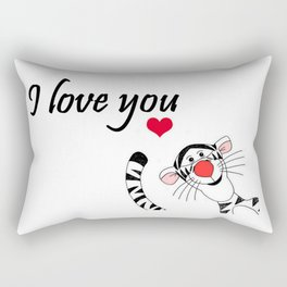 Tigger Love Rectangular Pillow