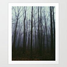 Dark Forest Art Print