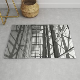 Metal constructions barriers with protective cells Rug