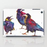 takmaj iPad Cases featuring Ugly birds by takmaj