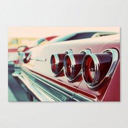 Taillights Canvas Print