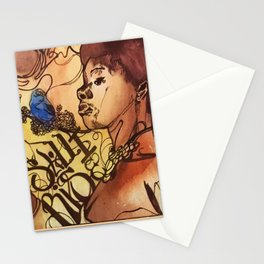 The Queen of Poetry Stationery Cards