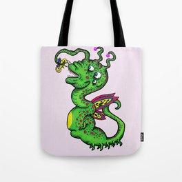 Dragon Monster Tote Bag