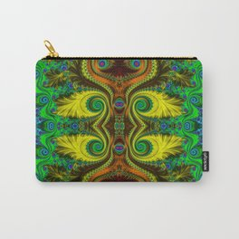 Fractal - My Mother's Dress Mirrored Carry-All Pouch