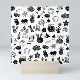 caudex mania ver.2 Mini Art Print