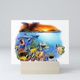 Tropical Sealife Mini Art Print