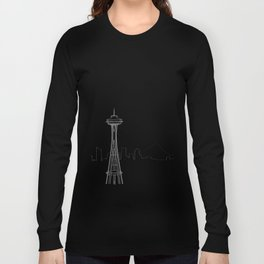 Seattle by Friztin Long Sleeve T-shirt