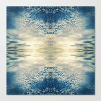 fractal Canvas Prints featuring Fractal by GBret